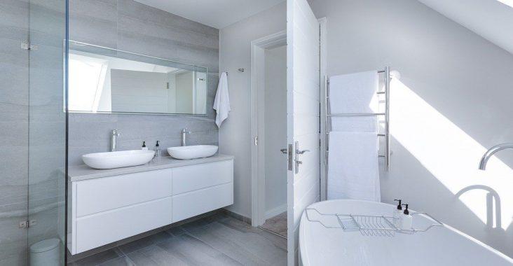 Salle de bain et aération VMC double
