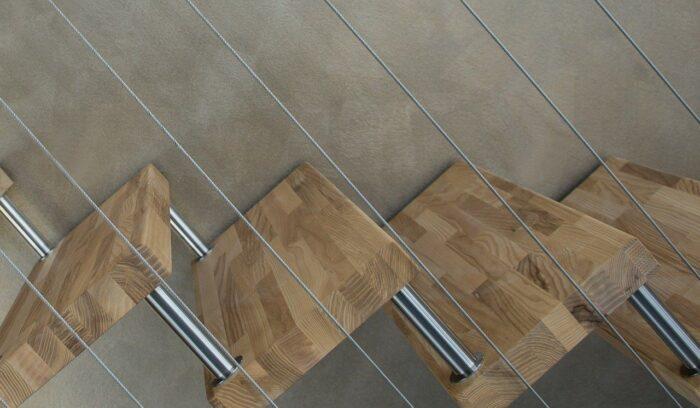 Escalier en bois design
