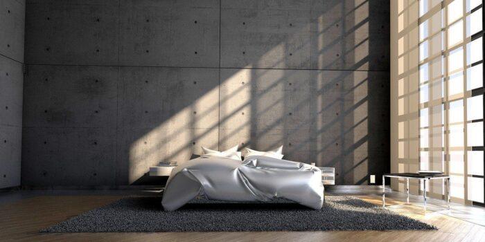 Chambre épurée minimaliste